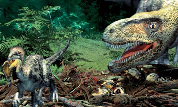 Фото №1 - По гнездовьям динозавров