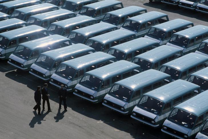 Фото №2 - Маршрутка для олимпийского мишки. Как выглядел главный автомобиль Олимпиады-80