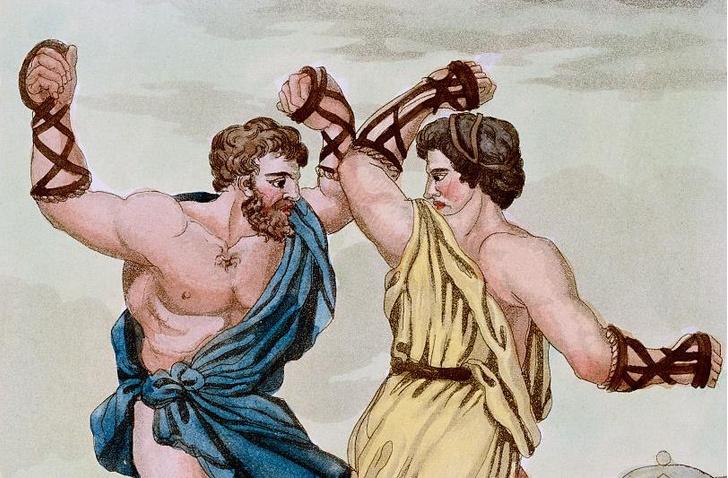 Фото №1 - Обнаружены древнейшие боксерские перчатки