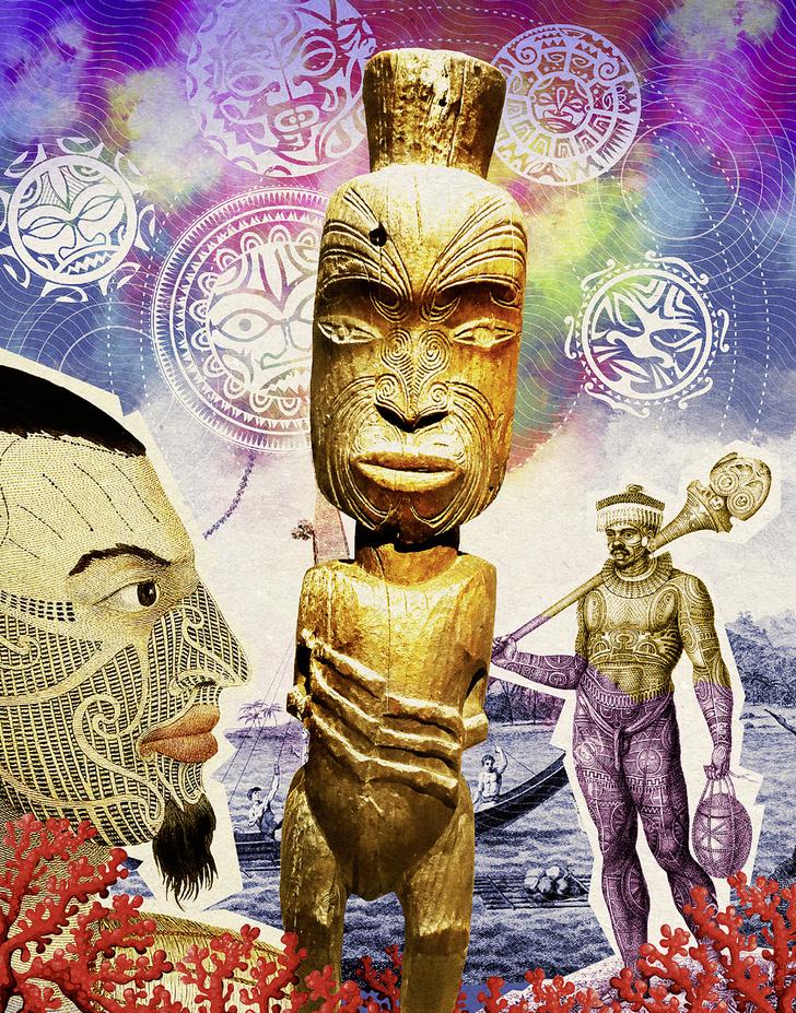 Фото №2 - Мифы народов мира: Как происходят острова, полинезийская легенда