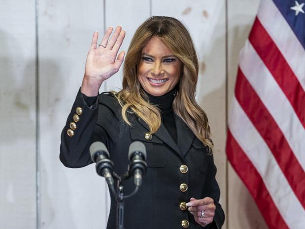 Фото №1 - Последнее слово Первой леди: о чем Мелания Трамп говорила в прощальном обращении к нации