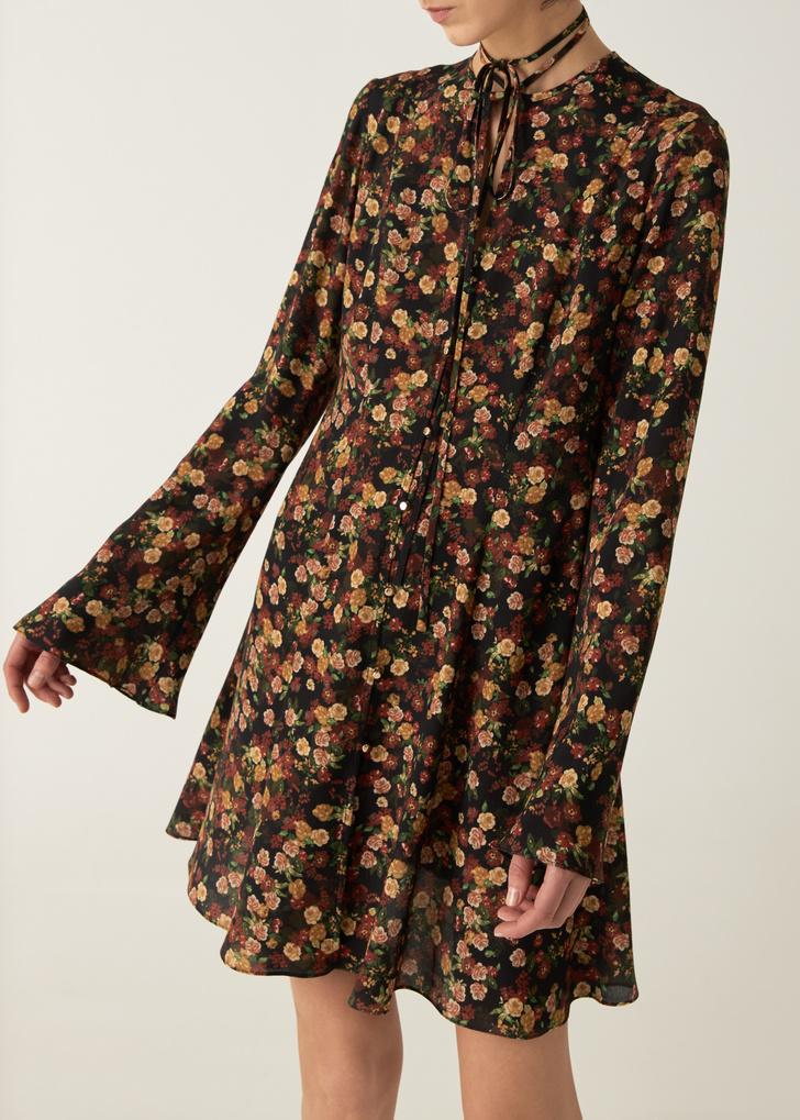 Фото №12 - Летом всем нам нужно платье в цветочек. Вот 20 нежных вариантов