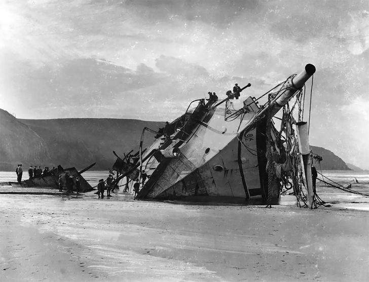 Фото №10 - Не повезло: старинные фотографии кораблекрушений