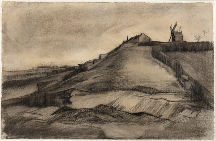 Фото №1 - В Нидерландах найден ранее неизвестный рисунок Ван Гога