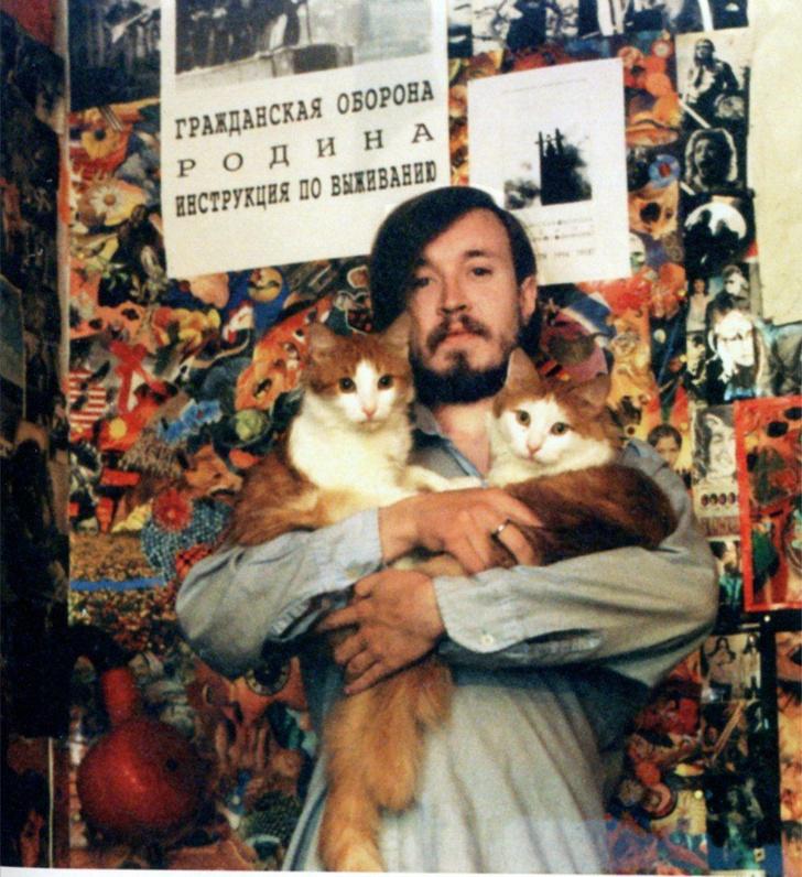 Фото №1 - 55 фотографии рок-звезд с котами