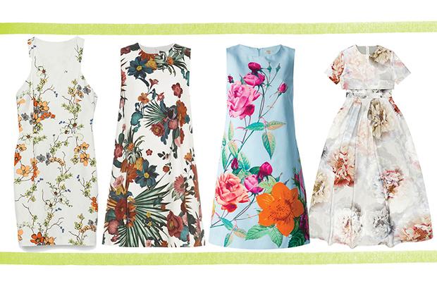 Платье, Zara, 2 999 руб.; платье, Sportmax; платье, P.A.R.O.S.H.; платье, Asos