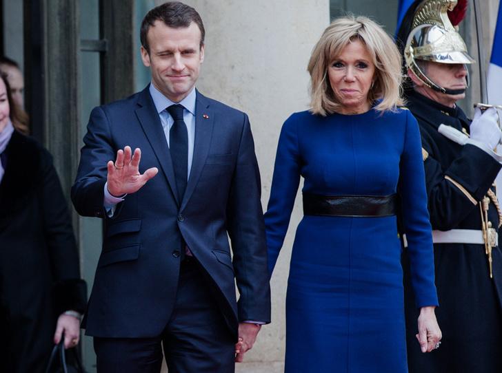 Фото №19 - Брижит Макрон: женщина, стоящая за президентом Франции