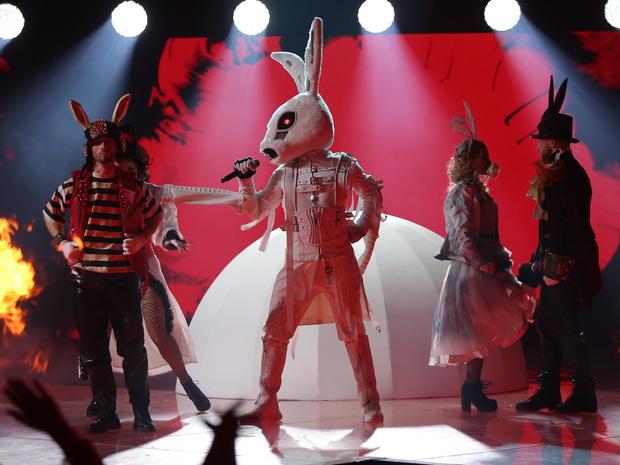 маска заяц