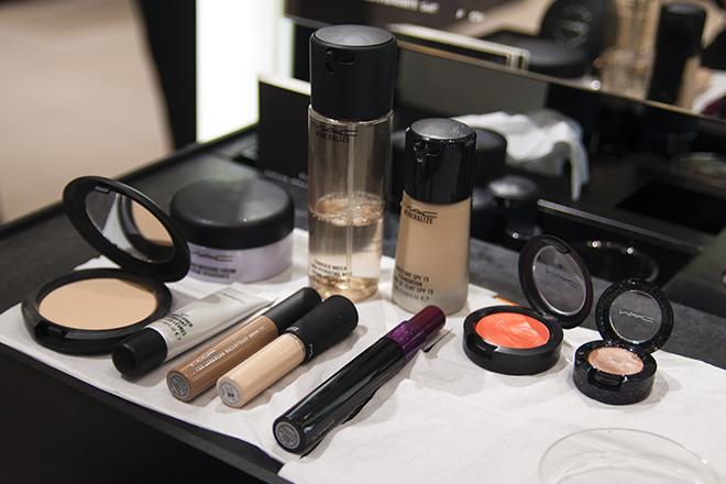 Новогодний экспресс-макияж