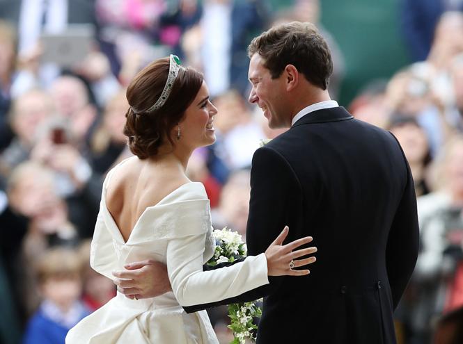 Фото №65 - Свадьба принцессы Евгении и Джека Бруксбэнка