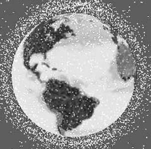 Фото №1 - Обломки спутника угрожают МКС