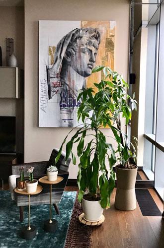 Фото №13 - Искусство в интерьере: как не сделать из квартиры музей