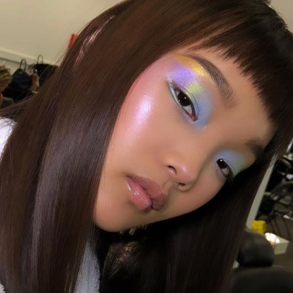 Фото №1 - Пастельные тени— самый модный тренд в макияже глаз