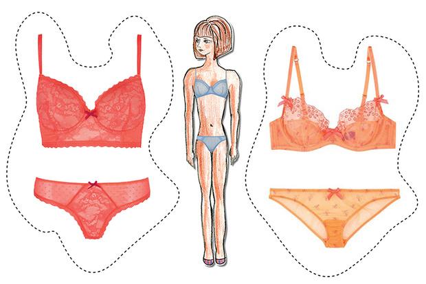 белье по типу фигуры широкие плечи большая грудь