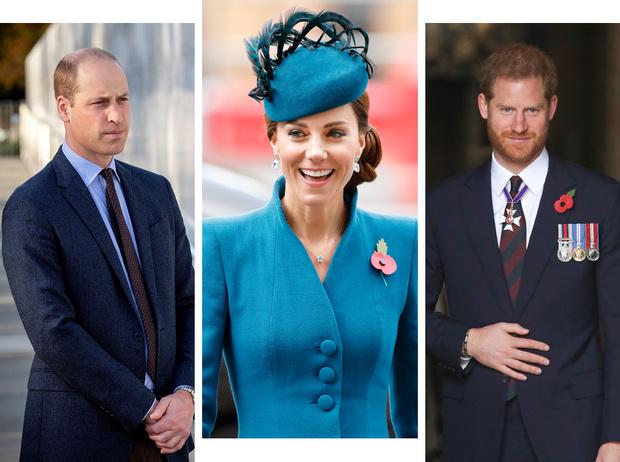Фото №1 - Герцогиня Кейт восстанавливает мир между Уильямом и Гарри