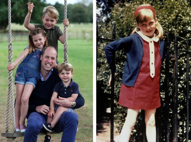 Фото №1 - Родная кровь: в чем Шарлотта все больше становится похожа на принцессу Диану