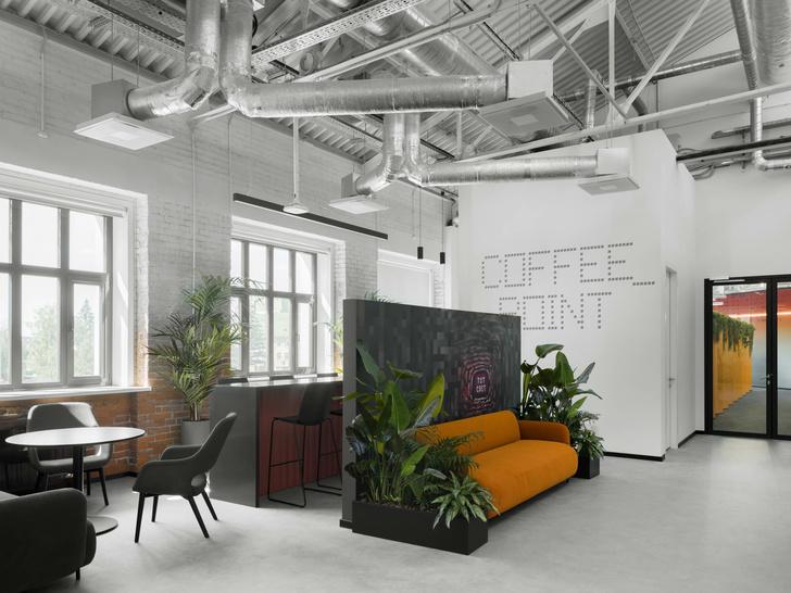 Фото №2 - Digital-интерьер для офиса IT-подразделения банка