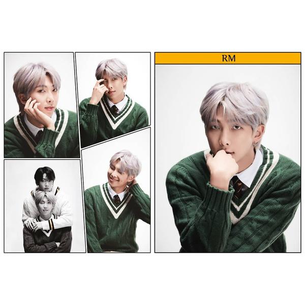 Фото №2 - RM из Слизерина, Джин из Гриффиндора: новые фотографии BTS для «Map Of The Soul: 7»