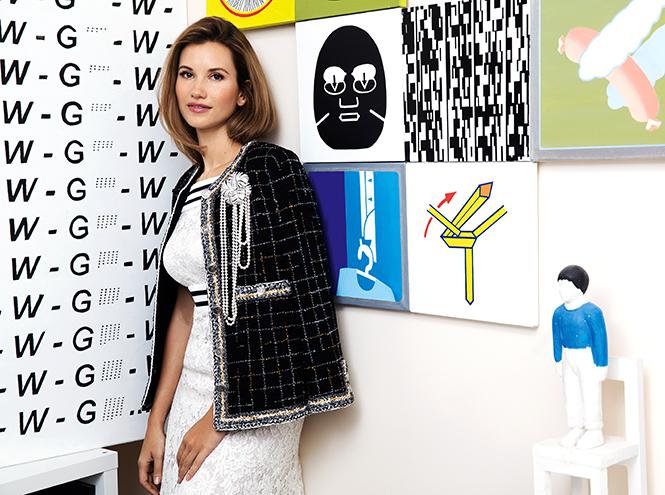 Фото №4 - Екатерина Винокурова об отце Сергее Лаврове, работе в Christie's и своем проекте Smart Art