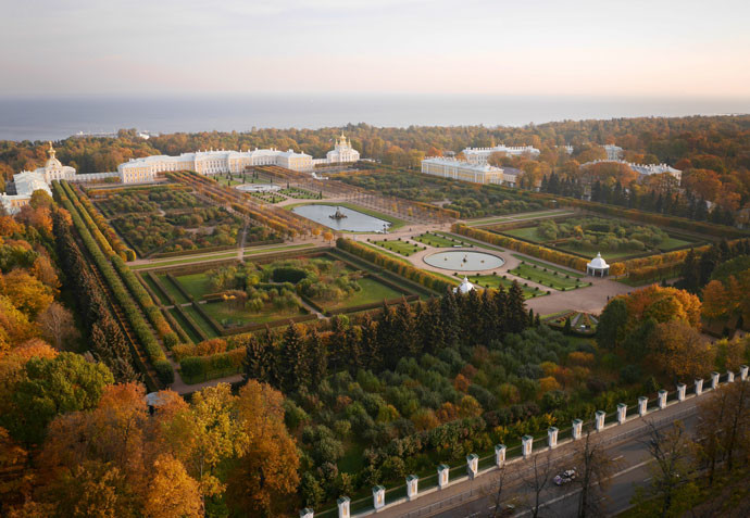 Петергоф, Ленинградская область, Россия