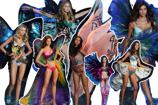Фото №5 - Самые красивые образы с показа Victoria's Secret