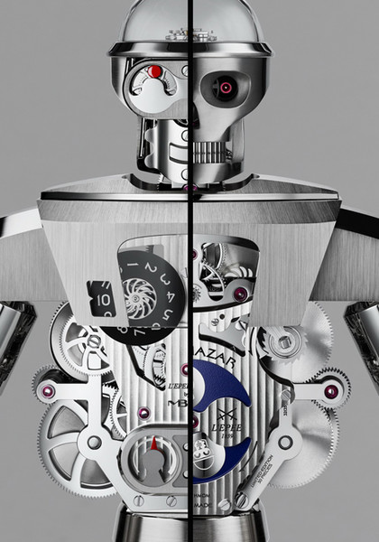 Фото №4 - Настольные часы Balthazar: робот, предсказывающий ваше настроение