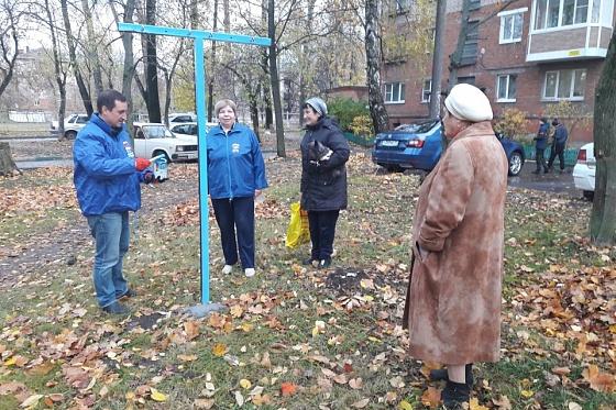 Фото №1 - В Туле депутат «Единой России» открыл для местных жителей сушилку для белья (фото)