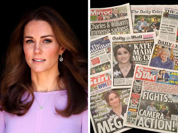 Фото №1 - Как Кейт переживает скандал из-за интервью Сассекских: читаем язык тела герцогини