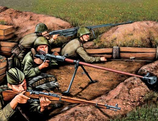 Фото №1 - Пехота против танков