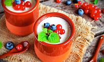 Живой йогурт на топленом молоке