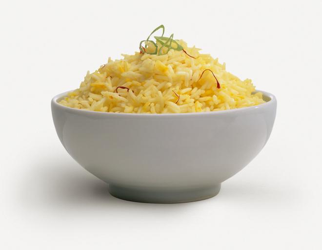 рис в сметанном соусе