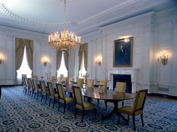 Фото №2 - Классика с личным акцентом: как первые леди США меняли Белый дом