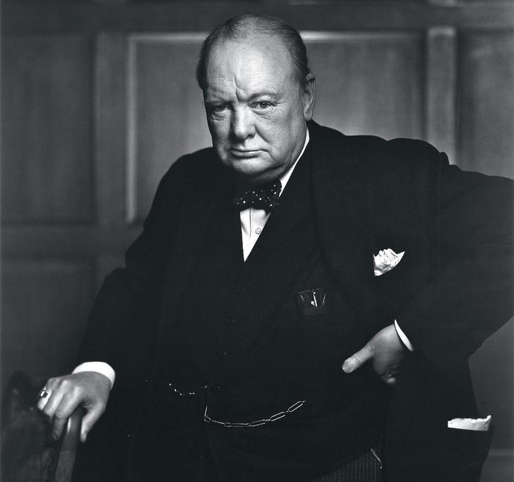 Фото №1 - Рычащий лев: история одного портрета Уинстона Черчилля