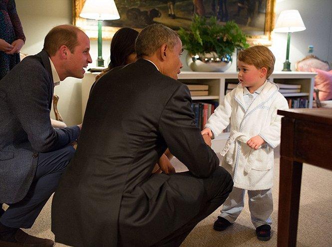 Фото №44 - Принц Джордж Кембриджский: три года в фотографиях