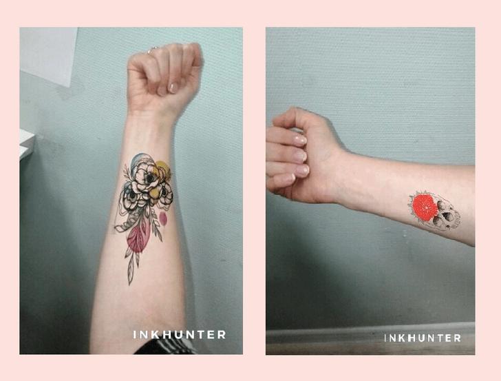 Фото №1 - Приложение дня: примерь татуировку с INKHUNTER
