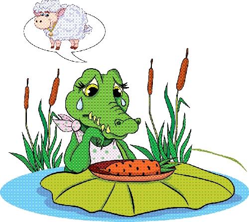 shutterstockКогда крокодил пожирает добычу, то кажется, будто он плачет от сострадания. Однако на самом деле это выделения желез, которые выводят из организма соль. Такие железы расположены возле глаз.