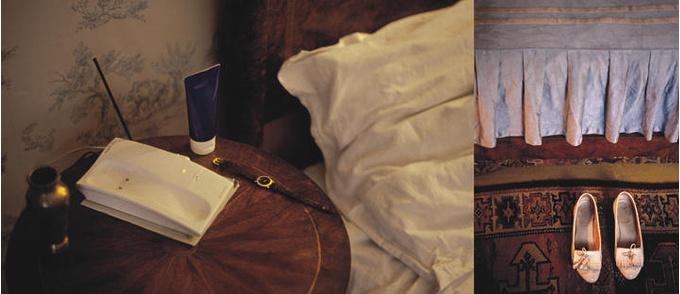 Фотограф Бенедикт Лассаль на протяжении долгого времени снимала самые обычные вещи в квартире своей очень пожилой бабушки: «Я делала эту работу, чтобы подготовить себя к ее уходу, по-своему сохранить память о ней».