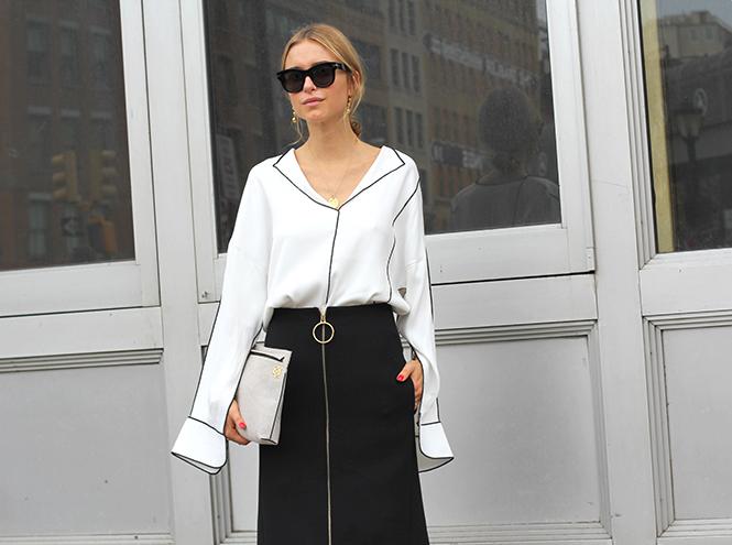 Фото №11 - Образы гостей недели моды в Нью-Йорке в прошедшие выходные