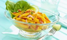 Как приготовить салат с перцем и яблоком