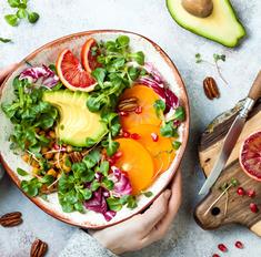 Рецепты салатов для тех, кто на ПП