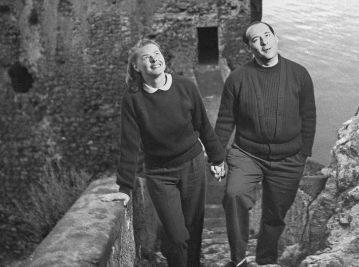 Фото №11 - Итальянские страсти: «аморальный» роман Ингрид Бергман и Роберто Росселлини