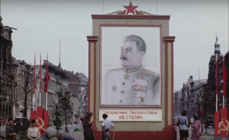 Фото №1 - Берлин в июле 1945 года (цветное видео)