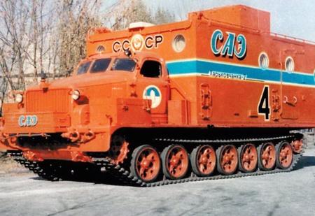 Минус 80 за бортом: история антарктического вездехода «Харьковчанка»