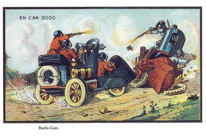 Фото №7 - Как люди изображали наше время сто лет назад