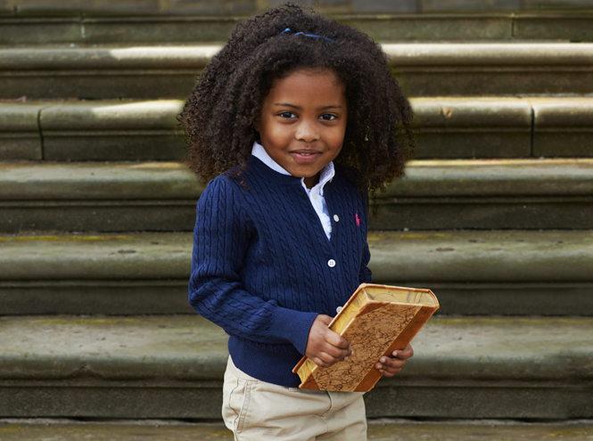 Фото №4 - В школу в поло: детский лукбук осенней коллекции Polo Ralph Lauren