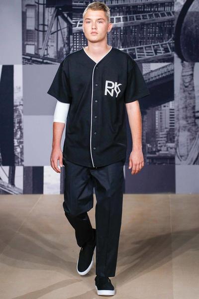 Рафферти на показе DKNY
