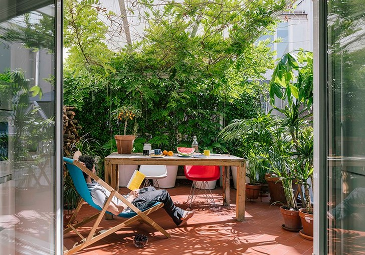Квартира в Мадриде. Проект студии Gon Architects.