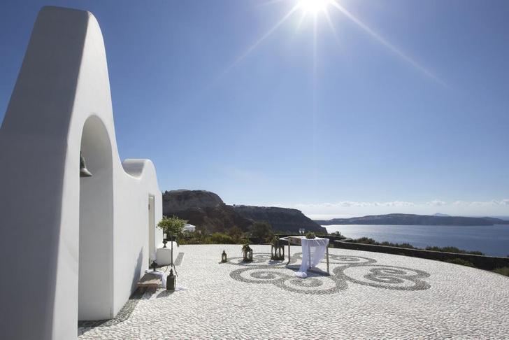 Фото №2 - Отель на Санторини по дизайну Паолы Навоне