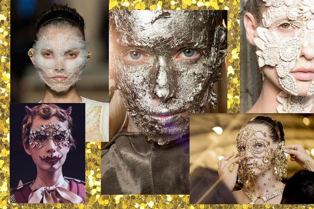 Фото №3 - 8 вариантов макияжа на Хэллоуин с подиумов