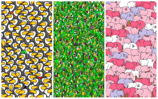 Фото №1 - 5 лучших рисунков-загадок от венгерского иллюстратора (с отгадками)
